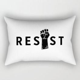 Resist Fist Rectangular Pillow