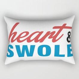 Heart & Swole Rectangular Pillow