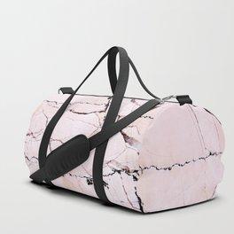 Light pink marble detail Duffle Bag