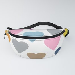 Hearts Colour Fanny Pack