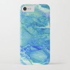 Sea blue marble Slim Case iPhone 7