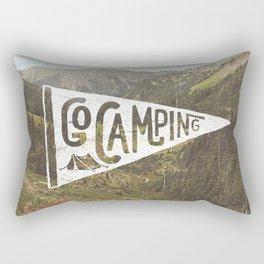 Go Camping Rectangular Pillow