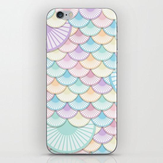 Pastel Wagon Wheels iPhone & iPod Skin