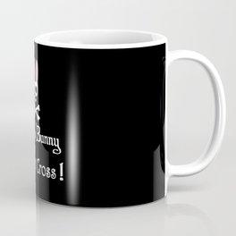 Watch out! Psycho Bunny Inside! Do Not Cross! Coffee Mug