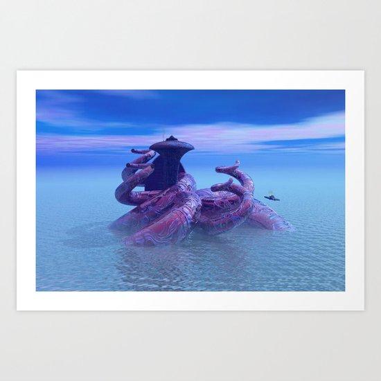 seacity2 Art Print