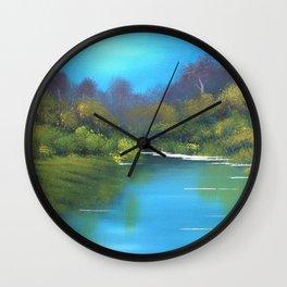 River view Wall Clock