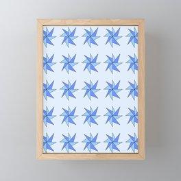 Stars 8- sky,light,rays,pointed,hope,estrella,mystical,spangled,gentle Framed Mini Art Print