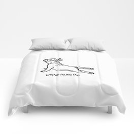 Yoga Dog - Frenchie Comforters