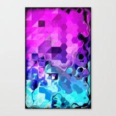 Geometrical Liquid. Canvas Print