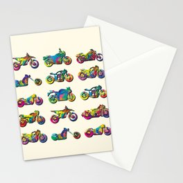 AP172-1 Motorcycles Stationery Cards