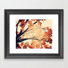 Maple Run Framed Art Print