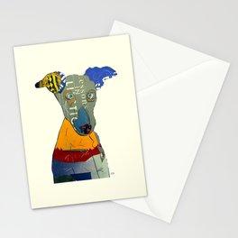 kacy (greyhound  Stationery Cards