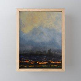 Wild Fire Framed Mini Art Print