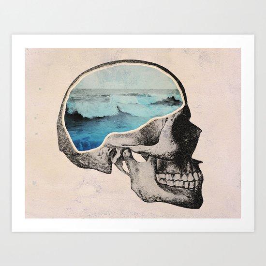 Brain Waves Art Print