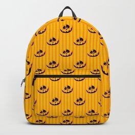 Smiling Halloween Pumpkin head Backpack