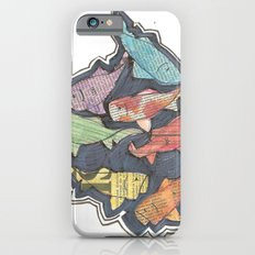 Newspaper Fish Slim Case iPhone 6