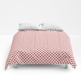 Grenadine Polka Dots Comforters