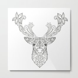 happy christmas Metal Print