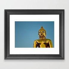 Golden Buddha 2 Framed Art Print