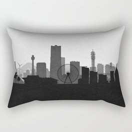 City Skylines: Yokohama Rectangular Pillow