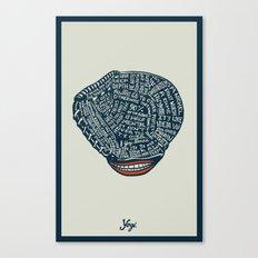Yogi Canvas Print