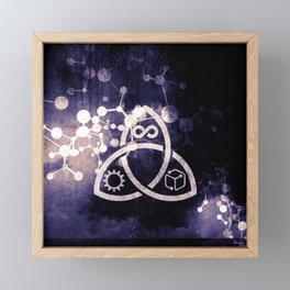 Raines Empire - Coalition Symbol Framed Mini Art Print