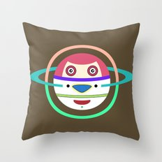 Spaceman 3 Throw Pillow