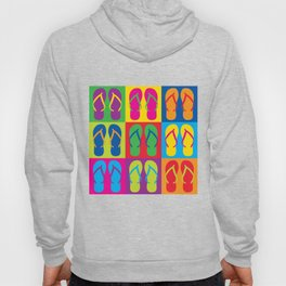 Pop Art Flip Flops Hoody