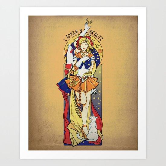 Her Codename - Sailor Venus nouveau Art Print