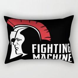 Fighting Machine 3 Rectangular Pillow