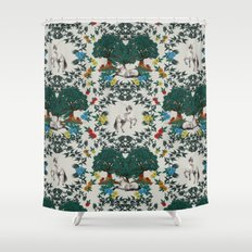 Medieval Tapestry Shower Curtain