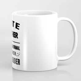 Lute Mother Like A Normal Mother Just Louder Coffee Mug