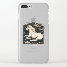 I Dwell in Possibility Clear iPhone Case