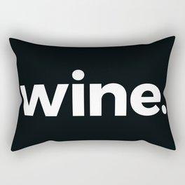 wine. Rectangular Pillow