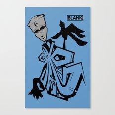 BLANKM GEAR - BLUEMAN T SHIRT Canvas Print