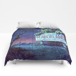 One Day at Horrorland Comforters