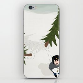 Lost in three pine trees iPhone Skin