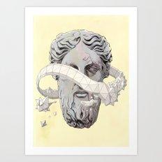 In principio Art Print