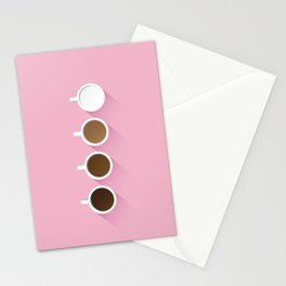 Coffee + Simplicity Stationery Cards