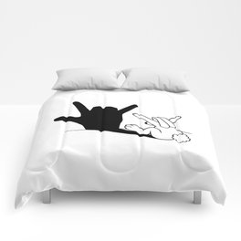 Rabbit Love Hand Shadow Comforters