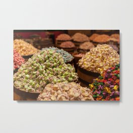 Dreaming of Candies Metal Print
