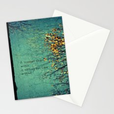 A Tranquil Heart Stationery Cards