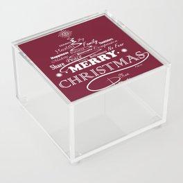 The Wishing Christmas Tree Acrylic Box