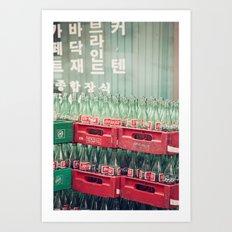 코카콜라 Art Print