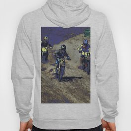 The Home Stretch - Motocross Racers Hoody