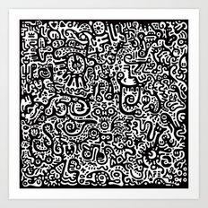 Gooseygander Art Print