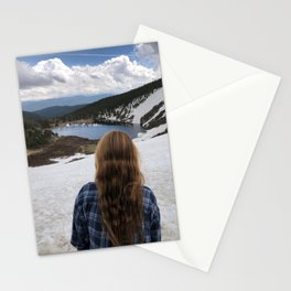 St Marys glacier Colorado Stationery Cards