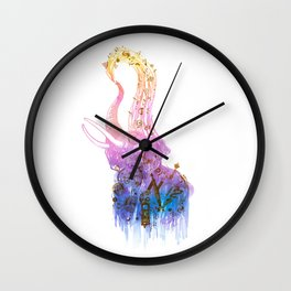 Showering with Time Wall Clock