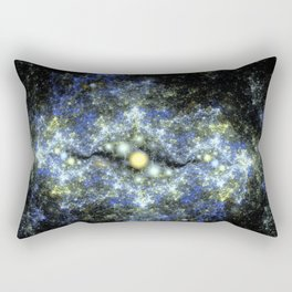 The Starry Sky at Night. Rectangular Pillow