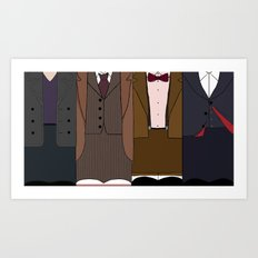 All Stories in the End Art Print
